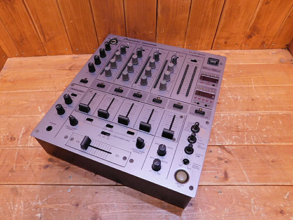 Pioneer/パイオニアDJM-600中古used/ユーズド楽器/DJ機器/ミキサー