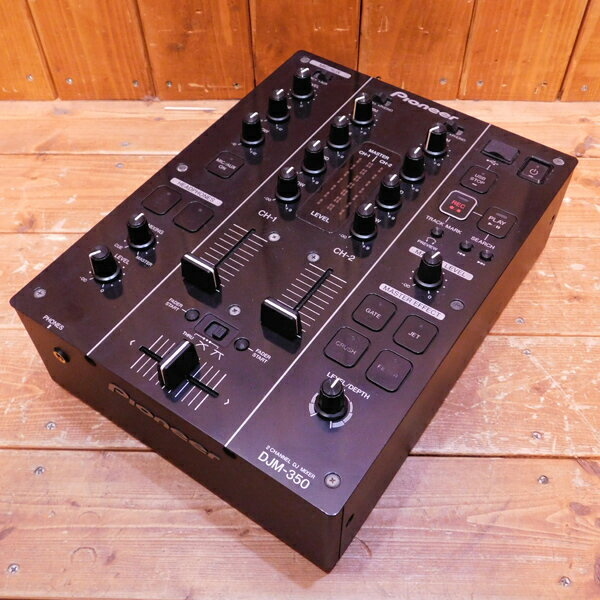Pioneer/パイオニアDJM-350中古used/ユーズド楽器/DJ機器/ミキサー/DJ用ミキサ