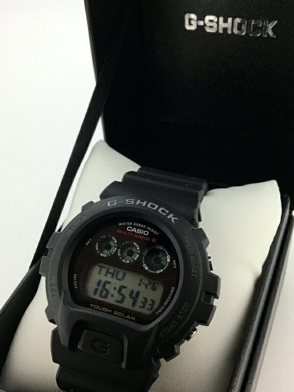 【】CASIO/カシオ G-SHOCK/Gショック 腕時計 マルチバンド6 GW-6900-1JFブラック×ブラック ソーラー 樹脂バンド