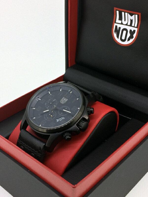 【】LUMINOX/ルミノックス 1880シリーズ 腕時計 カラー:ブラック(革ベルト) 【20170303★値下げ】