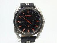 【中古】DIESEL/ディーゼル腕時計レザーベルトDZ-1578カラー:ブラック