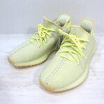 """adidas Originals by KANYE WEST アディダスオリジナルスバイカニエウェスト F36980 YEEZY BOOST 350 V2 """"BUTTER"""" イージーブースト350 V2 """"バター"""" / スニーカー サイズ:27.0cm カラー:BUTTER/BUTTER/BUTTER"""