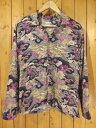 【中古】SAMURAI JEANS/サムライジーンズ ロングスリーブアロハシャツ / 長袖 サイズ:M カラー:-10P03Dec16