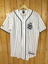 【中古】STUSSY/ステューシー メッシュ ベースボール シャツ サイズ:S カラー:-10P27May16
