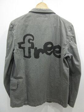 【中古】COMME des GARCONS SHIRT/コムデギャルソンシャツ Free ジャケット サイズ:S カラー:グレー / ドメス