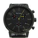 【中古】Paul Smith|ポールスミス J505-T021310 クロノグラフ 腕時計 サイズ:- カラー:ブラック【f131】