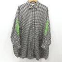 【中古】JieDa|ジエダ フラワーエンブロイダリーシャツ 長袖 刺繍 19SS Jie-19S-SH02 サイズ:2 カラー:ブラック / ドメス【f104】