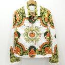 【中古】Casablanca|カサブランカ 20SS Printed Denim Jacket プリントデニムジャケット サイズ:M【f108】