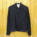 【中古】FUJITO/フジト Type G9 Blouson ライトモールスキンブルゾン ジャケット サイズ:M カラー:ネイビー【f096】