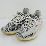 Adidas Originals/アディダスオリジナルス YEEZY BOOST 350 V2/イージー ブースト CP9654 スニーカー サイズ:26.5cm カラー:ホワイト