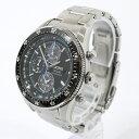 【中古】SEIKO/セイコー PROSPEX SPEEDMASTER/プロスペックススピードマスター 腕時計 SBDL007 サイズ:- カラー:文字盤:ブラックベルト:シルバー【f131】