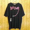 【中古】DIET BUTCHER SLIM SKIN/ダイエットブッチャースリムスキン NEW DOLL T-SHIRT 半袖Tシャツ トランプ サイズ:2 カラー:ブラック【f104】