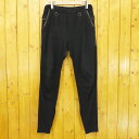 【中古】SUNSEA/サンシー 15SS FLEA MARKET PANTS/裾ジップフリーマーケットパンツ スウェットパンツ サイズ:2 カラー:ブラック【f107】