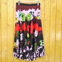 【中古】Paul Smith/ポール・スミス Degrade Print スカート 花柄 サイズ:38 カラー:マルチカラー【f112】
