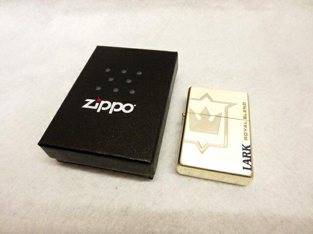 【中古】Zippo/ジッポLARK ROYAL BLEND 2014年 カラー:ゴールド