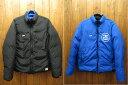【中古】STUSSY/ステューシー リバーシブル ダウンジャケット サイズ:L カラー:ブラック&ブルー / ストリート10P03Dec16