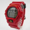 【中古】CASIO カシオ G-SHOCK ジーショック ONE PIECE モンキー D ルフィーモデル 限定 DW-6900FS 腕時計 サイズ: カラー:レッド【f131】