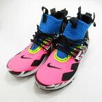 NIKE|ナイキ AIR PRESTO MID ACRONYM AH7832-600 スニーカー サイズ:27.0cm カラー:Racer Pink/Black-Photo Blue