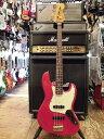 ★送料無料★Fender Japan【JB62G-70】シースルーレッド【中古/エレキベース/Fender Japan】