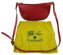 【中古】IL BISONTE イルビゾンテショルダーバッグA2145 RUBY RED【加治木店】