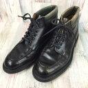 Alfred Sargent アルフレッドサージェント ブラック 黒 ブーツ メンズ 靴【中古】58FF08021767