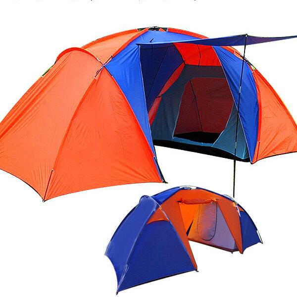 テントキャンプキャンピングテントドーム型テント4人用防水キャンプテントキャンプ用品ファミリーテントド