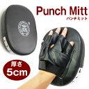 厚さ5cm パンチミット ミット トレーニング/エクササイズ/ボクシング/空手/格闘技 送料無料###ミット3JZK-SB###