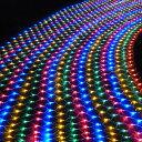 イルミネーション LED ライト ネット 網 288球 屋外...