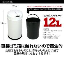 ダストボックス12L☆