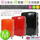【送料無料】スーツケース [中型Mサイズ][2泊から4泊]###スーツケース8605M###