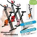 【送料無料】折り畳み式マグネットフィットネスバイク★選べる3色###バイクB-717H###