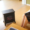 暖炉型セラミックヒーター 暖炉 暖炉型 ヒーター アンティー...