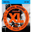 【即日発送O.K】D'Addario EXL110 ダダリオ エレキギター弦【配送方法選択可!】【smtb-ms】【RCP】【zn】