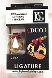 BG リガチャー DUO LD1 ゴールドプレートアルトサックス/B♭クラリネット用 【送料無料】【smtb-ms】【RCP】【zn】