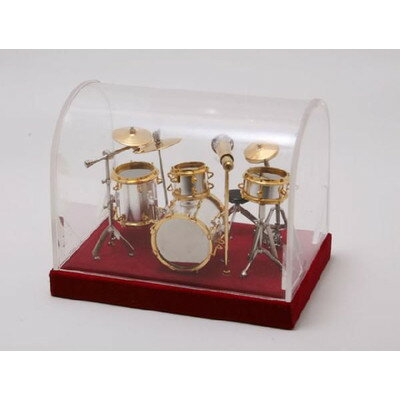 ミニチュア楽器ドラムセット1/18サイズRCPzn