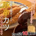 【名古屋名物 味噌カツ】上信ポークの『豚串カツ』 1本(約30g)×10本入り 八丁味噌だれ2パック付き