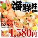 【同梱にも最適!】小樽きたいち 海鮮丼セット 海鮮 海鮮丼