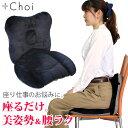骨盤 クッション オフィス「腰ラク&美姿勢」プラスチョイ MARNA 骨盤クッション 座椅子風 オフィス用