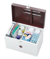 木製のかわいい救急箱大イシグロ60055