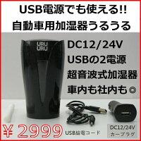 パーソナル加湿器レミックスIM-13012V/24V・USB電源対応