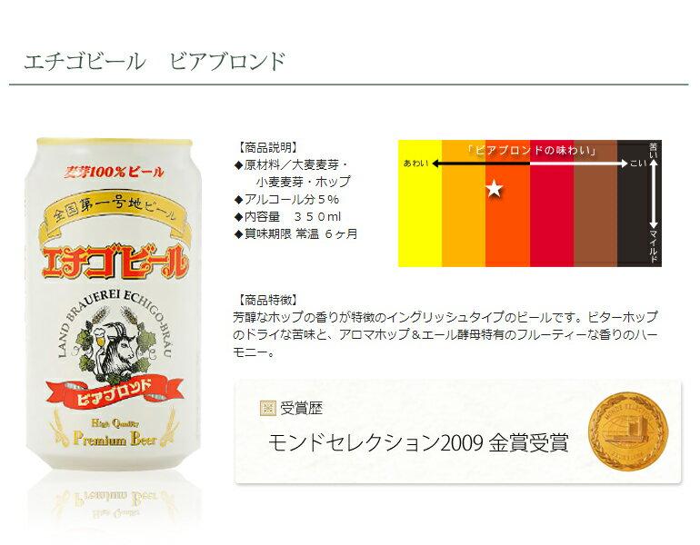 地ビール 国産ビール 地域ブランド エチゴビー...の紹介画像3