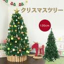 クリスマスツリー 120cm スリムツリー ヌードツリー 北欧 デコレーションツリー