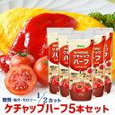 ナガノトマト ケチャップハーフ 475g×5本 糖質 塩分 カロリー50%オフ 低糖質調味料 ケチャップ 減塩 低カロリー 低糖質 糖質制限 ダイエット 健康 塩分カット 糖質オフ カロリーオフ