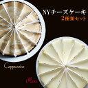ニューヨークチーズケーキデュオ カプチーノ&プレーン送料無料【グルメ_DL】