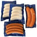 ソーセージ 詰め合わせ ドイツ産 人気の3種セット(ヴァイス 2PC・オーバー 1PC・シンケン1PC) ノッカー社 冷凍 お中元 ギフト 贈り物