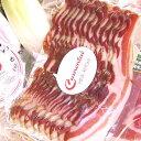 【キュルノンチュエ】特選スライス豚バラ肉の燻製[01s]180g〜200g×2パック