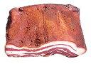 【キュルノンチュエ】豚ばら肉辛味熟成品[29] パンチェッタ・スタジオナータ・テザ・ビカンスライス100g 産直品