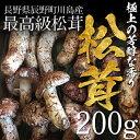 【終了間近】松茸 まつたけ 国産 開き(ひらき)200g 2〜5本 マツタケ 長野 産地直送