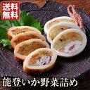 能登いか野菜詰め(2種セット) 送料無料...