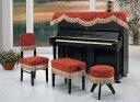 アルプス製 インポートタイプ ピアノ椅子 カバー (画像中央)G-130CS 60未満